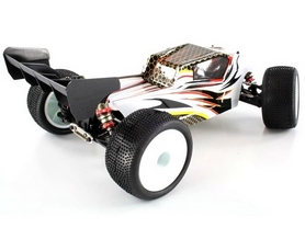 Фото 2 к товару Автомобиль радиоуправляемый LC Racing Трагги TGH 1:14 white