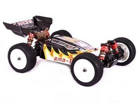 Автомобиль радиоуправляемый LC Racing Багги 1H LC-1H-BLK 1:14 black