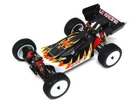 Фото 3 к товару Автомобиль радиоуправляемый LC Racing Багги 1H LC-1H-BLK 1:14 black