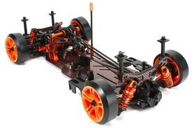 Фото 2 к товару Автомобиль радиоуправляемый Team Magic Дрифт E4D MF Pro KIT 1:10 black