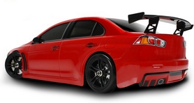 Фото 2 к товару Автомобиль радиоуправляемый Team Magic E4JR Mitsubishi Evolution X 1:10 red