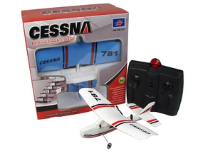 Фото 4 к товару Самолет радиоуправляемый VolantexRC Mini Cessna 200мм RTF