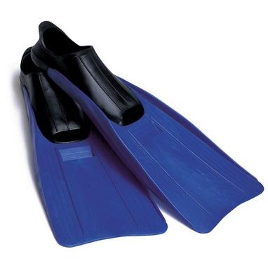 Ласты с закрытой пяткой Intex Large Super Sport Fins синие