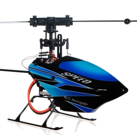 Фото 2 к товару Вертолет радиоуправляемый 3D WL Toys V922 FBL синий