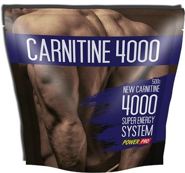 Жиросжигатель Power Pro L-Carnitine 4000 0,5 кг