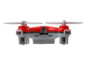 Фото 2 к товару Квадрокоптер нано радиоуправляемый Cheerson CX-10 оранжевый