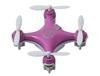 Квадрокоптер нано радиоуправляемый Cheerson CX10 розовый - фото 1