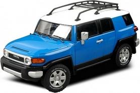 Автомобиль радиоуправляемый Toyota FJ 1:43 микро синий