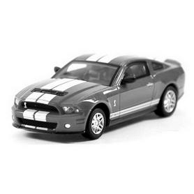 Автомобиль радиоуправляемый Ford GT500 1:43 микро серый