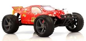 Фото 2 к товару Автомобиль радиоуправляемый Himoto Трагги Centro E18XTr Brushed 1:18 red