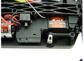 Фото 3 к товару Автомобиль радиоуправляемый Himoto Tricer E18ORw Brushed 1:18 white