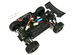 Фото 8 к товару Автомобиль радиоуправляемый Himoto Багги Barren E18DBL Brushless 1:18 black