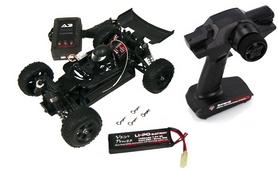 Фото 9 к товару Автомобиль радиоуправляемый Himoto Багги Barren E18DBL Brushless 1:18 black