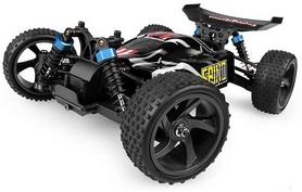 Автомобиль радиоуправляемый Himoto Багги Spino E18XBLb Brushless 1:18 black