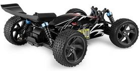 Фото 4 к товару Автомобиль радиоуправляемый Himoto Багги Spino E18XBLb Brushless 1:18 black