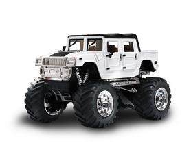 Автомобиль радиоуправляемый Hummer 1:43 микро белый