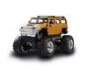 Автомобиль радиоуправляемый Hummer 1:43 микро желтый - фото 1