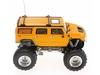 Автомобиль радиоуправляемый Hummer 1:43 микро желтый - фото 2