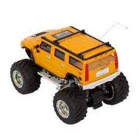 Фото 3 к товару Автомобиль радиоуправляемый Hummer 1:43 микро желтый