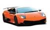 Автомобиль радиоуправляемый Lamborghini LP670 1:43 микро оранжевый - фото 1