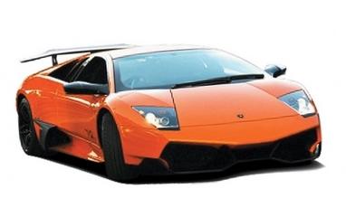 Автомобиль радиоуправляемый Lamborghini LP670 1:43 микро оранжевый