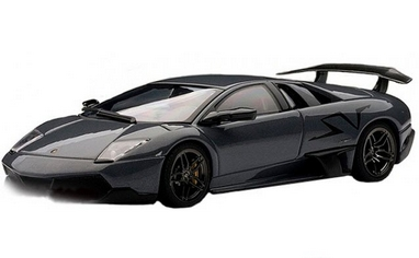 Автомобиль радиоуправляемый Lamborghini LP670 1:43 микро черный