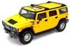 Автомобиль радиоуправляемый Hummer H2 1:43 микро желтый - фото 1