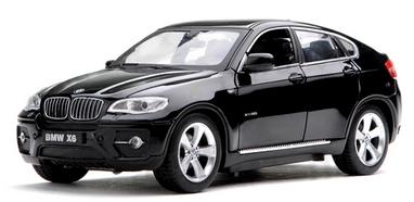 Автомобиль радиоуправляемый Meizhi BMW X6 1:24 черный