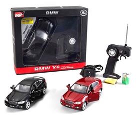 Фото 4 к товару Автомобиль радиоуправляемый Meizhi BMW X6 1:24 черный