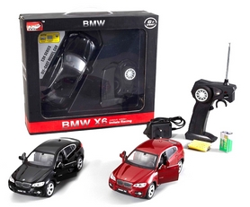 Фото 5 к товару Автомобиль радиоуправляемый Meizhi BMW X6 1:24 красный