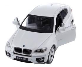 Фото 2 к товару Автомобиль радиоуправляемый Meizhi BMW X6 1:24 белый
