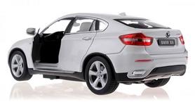 Фото 3 к товару Автомобиль радиоуправляемый Meizhi BMW X6 1:24 белый