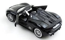 Фото 4 к товару Автомобиль радиоуправляемый Meizhi Porsche 918 1:24 черный