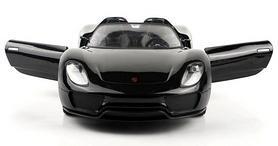 Фото 5 к товару Автомобиль радиоуправляемый Meizhi Porsche 918 1:24 черный