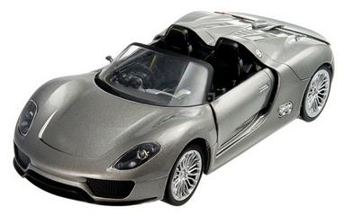Автомобиль радиоуправляемый Meizhi Porsche 918 1:24 серый