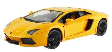 Автомобиль радиоуправляемый Meizhi Lamborghini LP700 1:24 желтый