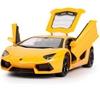 Автомобиль радиоуправляемый Meizhi Lamborghini LP700 1:24 желтый - фото 2