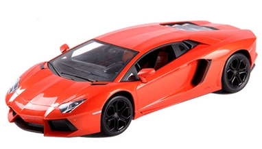 Автомобиль радиоуправляемый Meizhi Lamborghini LP700 1:24 оранжевый