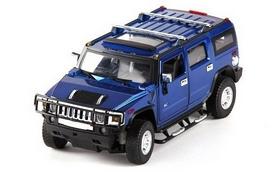Автомобиль радиоуправляемый Meizhi Hummer H2 1:24 синий