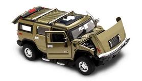 Фото 2 к товару Автомобиль радиоуправляемый Meizhi Hummer H2 1:24 темно-зеленый