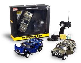 Фото 3 к товару Автомобиль радиоуправляемый Meizhi Hummer H2 1:24 темно-зеленый