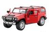 Автомобиль радиоуправляемый Meizhi Hummer H2 1:24 красный - фото 2