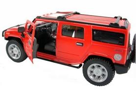 Фото 3 к товару Автомобиль радиоуправляемый Meizhi Hummer H2 1:24 красный