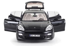 Фото 2 к товару Автомобиль радиоуправляемый Meizhi Porsche Panamera 1:18 черный