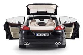 Фото 3 к товару Автомобиль радиоуправляемый Meizhi Porsche Panamera 1:18 черный