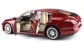 Фото 3 к товару Автомобиль радиоуправляемый Meizhi Porsche Panamera 1:18 красный