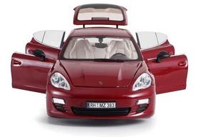 Фото 5 к товару Автомобиль радиоуправляемый Meizhi Porsche Panamera 1:18 красный