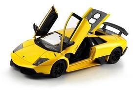 Автомобиль радиоуправляемый Meizhi Lamborghini LP670-4 SV 1:18 желтый