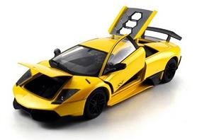 Фото 2 к товару Автомобиль радиоуправляемый Meizhi Lamborghini LP670-4 SV 1:18 желтый