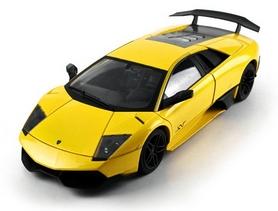 Фото 3 к товару Автомобиль радиоуправляемый Meizhi Lamborghini LP670-4 SV 1:18 желтый